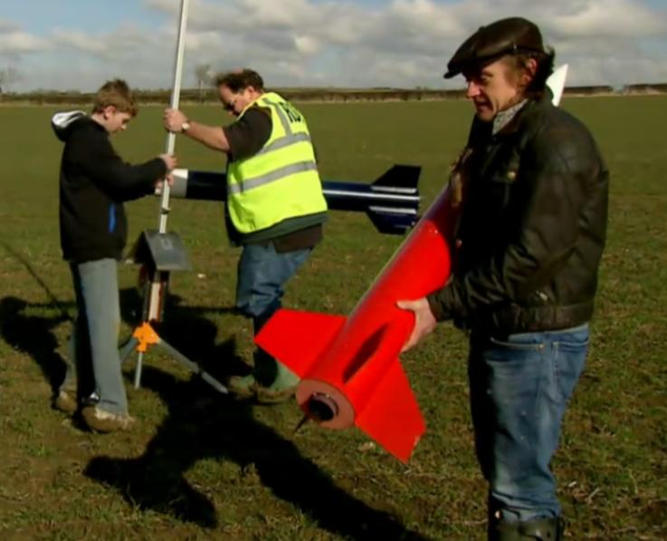 Jack's rocket on Richard Hammond's Engineering Connections